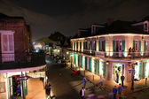 Bourbon street in New Orleans — Stock Photo
