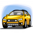 Car clipart — Stock Photo #38297993