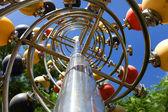 Tall lamp post — Stock Photo