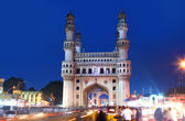 Charminar in night time — Stock Photo