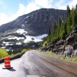 Going to sun road — Stock Photo