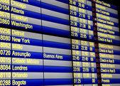 Horário de voo — Foto Stock