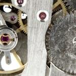 Old watch mechanism — Stock Photo