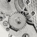 Watch mechanism details — Stock Photo