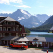 Many Glaciers resort — Stock Photo #47860405