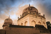 Historic Qutb Shahi tombs — Stock Photo