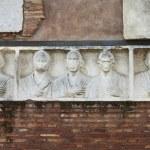 Basrelief in Appian way — Stock Photo #11503818
