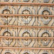 Stock Photo: Decorated coffered ceiling