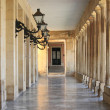 Stock Photo: Colonnade in Corfu