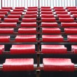 Empty seats in stadium — Stock Photo