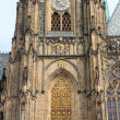 St. Vitus Cathedral in Prague — Stockfoto