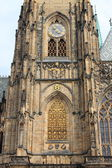 собор святого вита в праге — Стоковое фото
