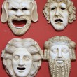 Ancient Greece theatre masks — Stock Photo #12563338