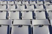 Empty seats in stadium — Stock Photo