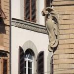 Medieval corner in Florence — Stock Photo
