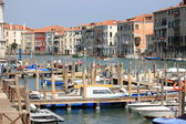 Gran canal de venecia — Foto de Stock