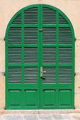 Italian style house entrance — Stock Photo
