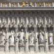 Facade of Westminster Abbey — Stock Photo