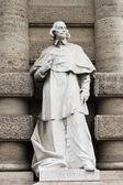 Statue of philosopher — Stock Photo