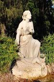 статуя сирены — Стоковое фото