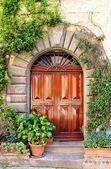 Renesanční domovní dveře — Stock fotografie