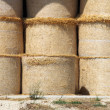 Hay bales in a barn — Stock Photo #12771286