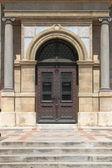 Renaissance door at St. Stephen Basilica — Stock Photo