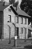 Barrack at Auschwitz — Stock Photo