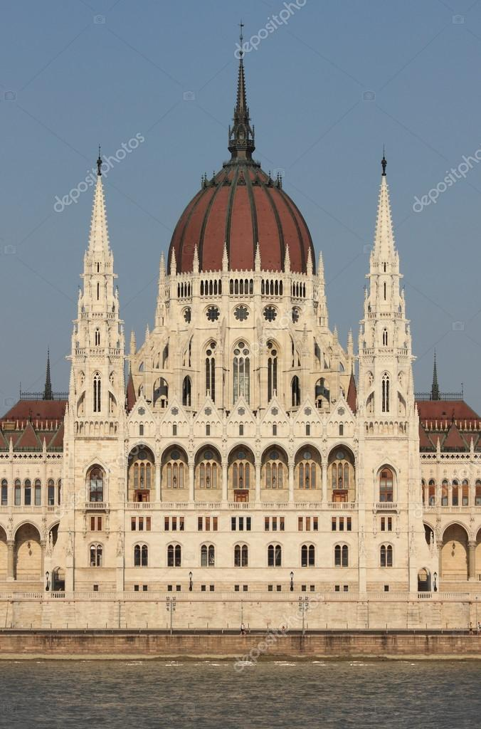 Parliament building in Budapest, Hungary — Stock Photo #13141890