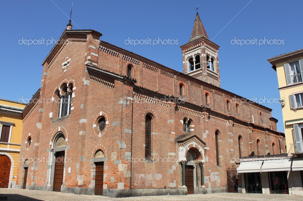 St. Peter Martyr church in Monza, Italy — Stock Photo #13209204