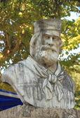 Garibaldi memorial statue — Stock Photo