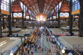 Great Market Hall in Budapest — Stock Photo
