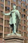Statue of Jozsef Eotvos — Stock Photo