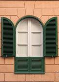 Renaissance window — Stock Photo