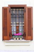 Romantic window — Stock Photo