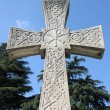 Cross gravestone — Stock Photo #13613474