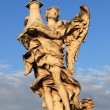 Statue of angel in Rome — 图库照片