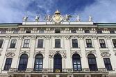 在维也纳霍夫堡皇宫的外观 — 图库照片