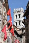 Urban scenic in Assisi — Stock fotografie