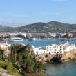 Sa Penya Distric in Ibiza — Stock Photo