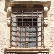 Old medieval window — Stock Photo
