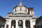 Saint Lawrence cathedral in Milan — Stock Photo