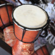 African Djembe drum — Stock Photo