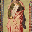 Stock Photo: Mosaic of Prophet Isaiah