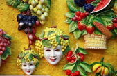 Bacchus masks — Stock Photo