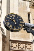 Renaissance style clock — Stock Photo