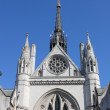 Facade of Royal Court of Justice in London — Stock Photo