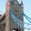 Tower of the Tower Bridge in London — Stock Photo
