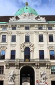 Facade of Hofburg Palace in Vienna — Stock Photo