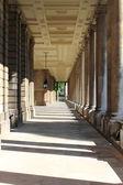 Pelargången i old royal naval college i greenwich — Stockfoto